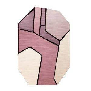 Irregular Polygon Modern Area Rug