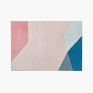 Irregular Geometry Area Rug