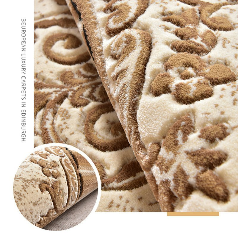 Thickening Luxury Bed Room Area Rug