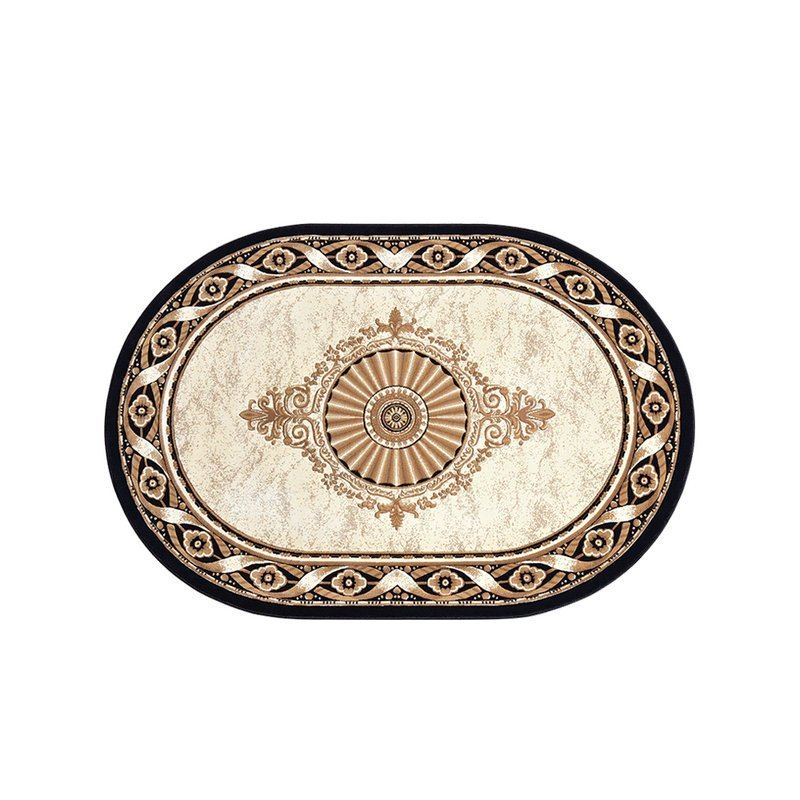Thickening Luxury Large Oval Rugs