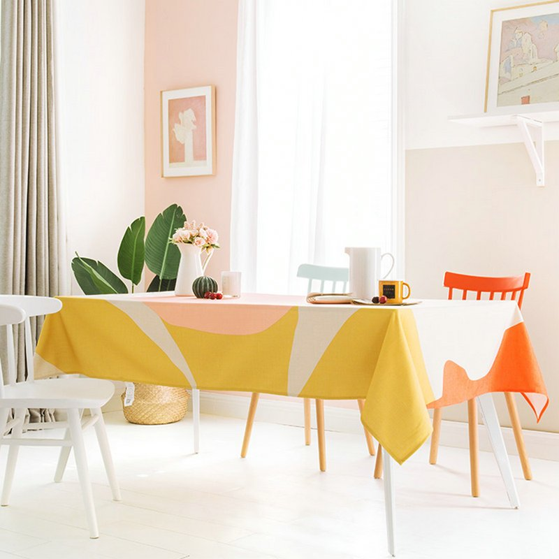 Colorful Table Cloth