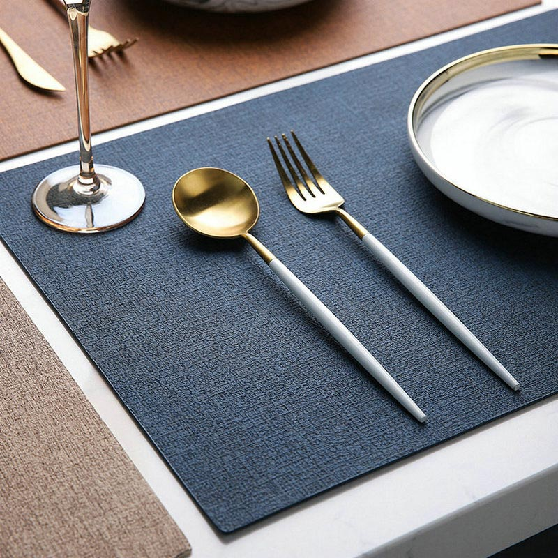 (2pcs) Insulation Non-Slip Dining Table Mats