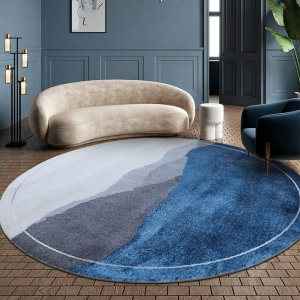 Original Design Contemporary Round Carpet