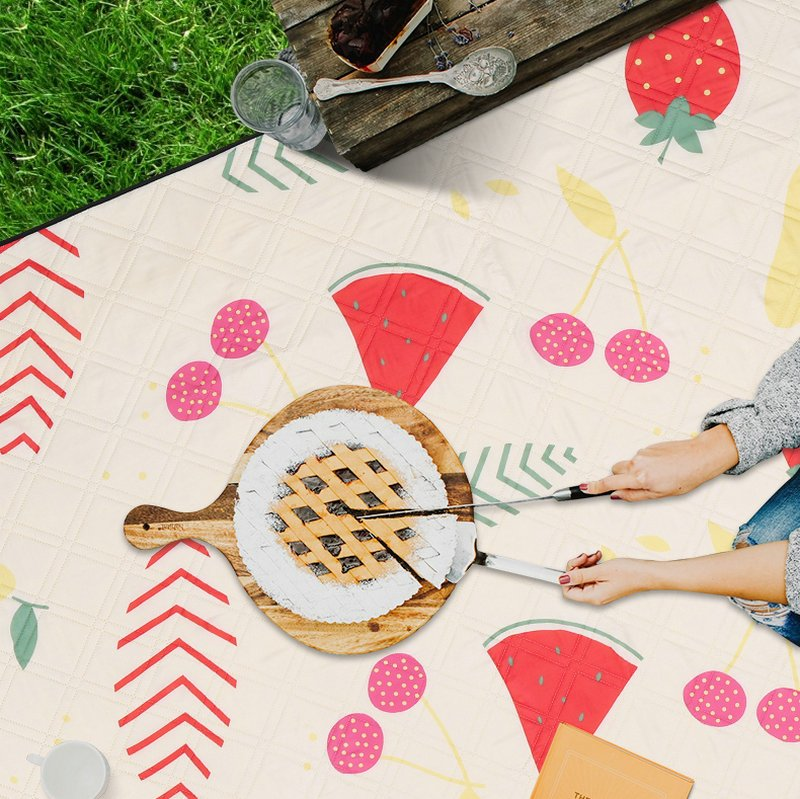 Colorful Fruit Decor Outdoor Waterproof Picnic Mat