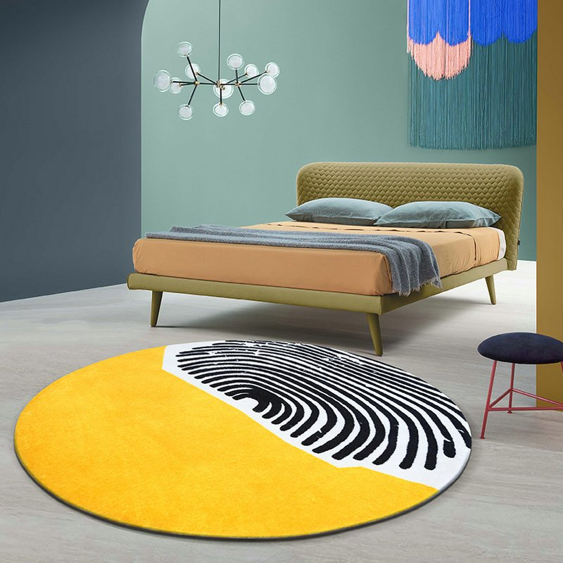 New Design Round Modern Rugs