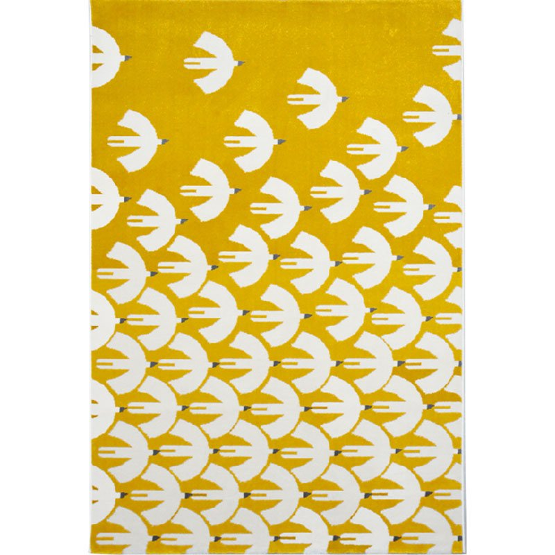 Creative Yellow Rug