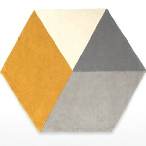Hexagon Art Rugs