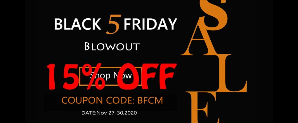 Black Friday & Cyber Monday Promotions