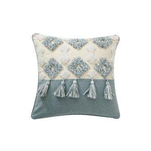 Morocco Boho Design Tufted Pillow Cover