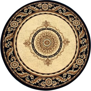 large round rugs
