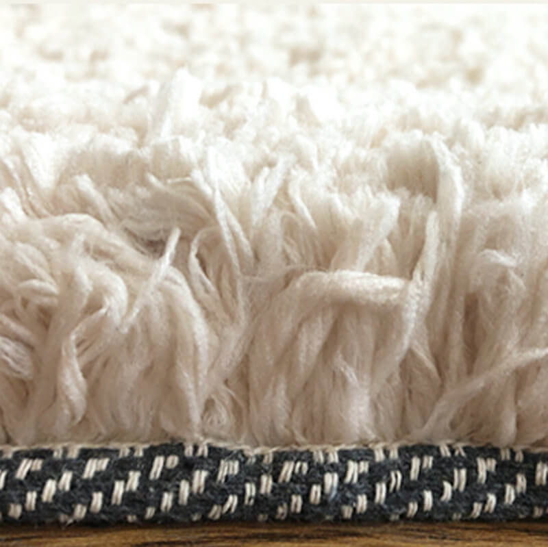 Clean shaggy rug
