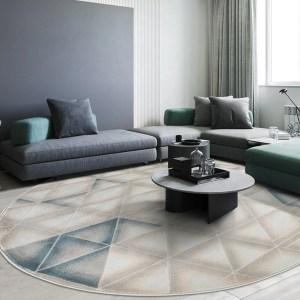 Round Rug Living Room