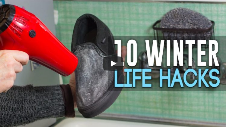 10lifehacks 1 - 10 Amazing Winter Life Hacks