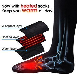 elements 1 - 5 Best Heated Socks Reviews - Must have for Cold Weather (Updated [my])