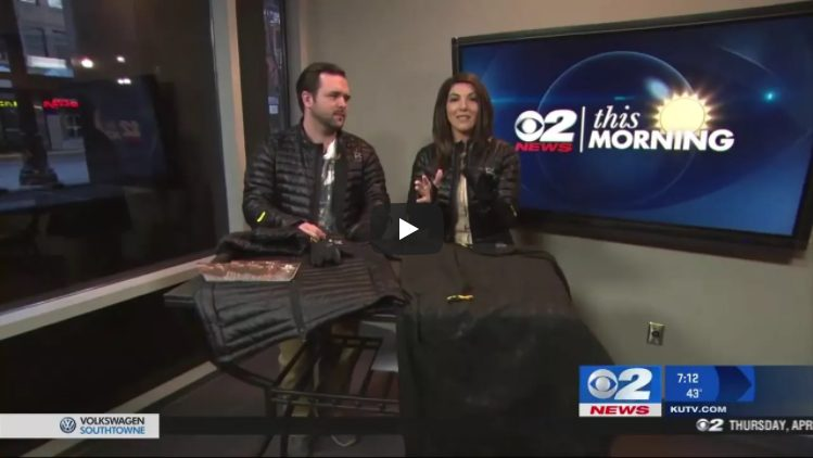TV Interview on 2News of Ravean Heated Jacket Founder