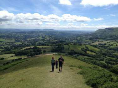 Everyone's favourite walk along the Cat's Back at nearby Black Hill