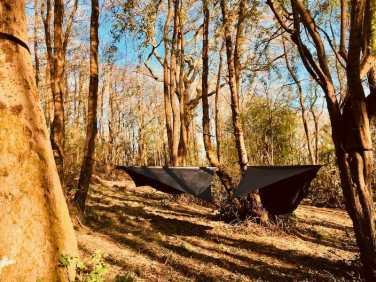 Bush camping at Warmth & Wonder
