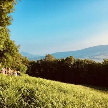 Towards Skirrid from Garn Farm