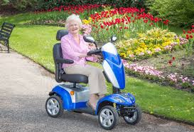four wheeled mobility scooter