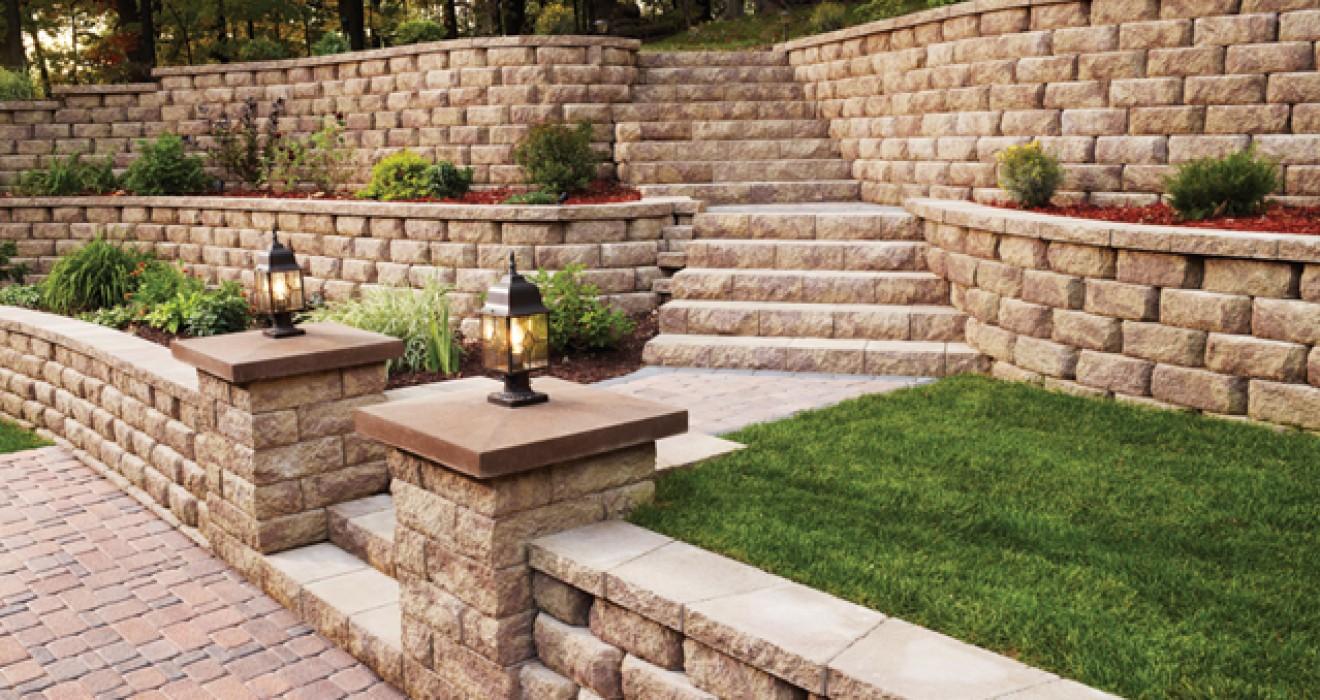 Retaining Walls Nashville, TN | Warner Foundation Services on Patio Stone Wall Ideas  id=95621