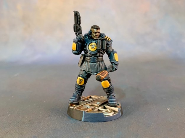 Necromunda - Palanite Enforcer