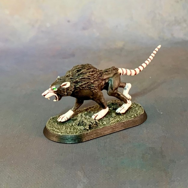 Skaven Wolf Rat