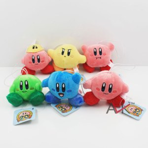 Kirby Mini Plush Key Chain