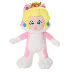 Princess Peach Cat Suit Plush