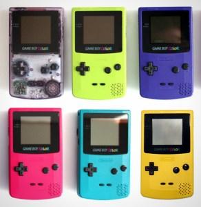 Nintendo Game Boy Color Systems