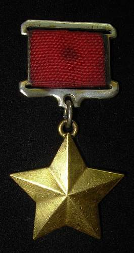 Soviet Hero Union Medal
