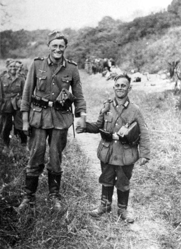 Unusual german WW2 photos