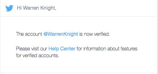 Warren Knight Verified