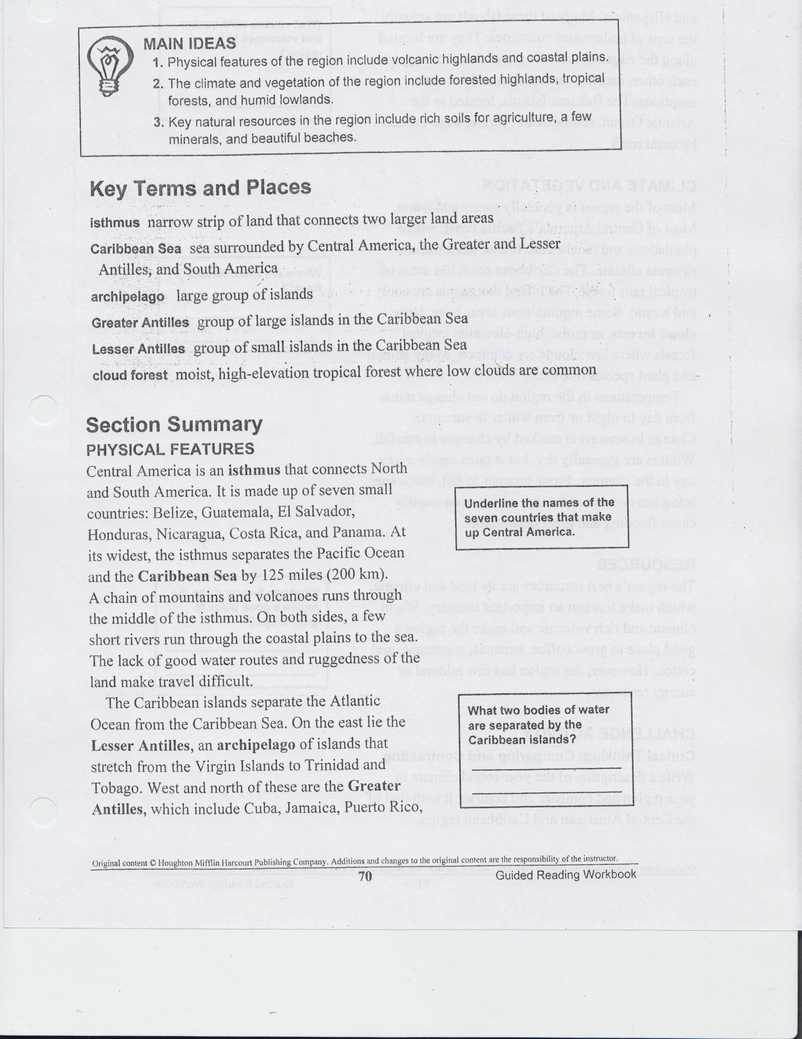 Kavcak Kimberly 2nd Marking Period Class Worksheets