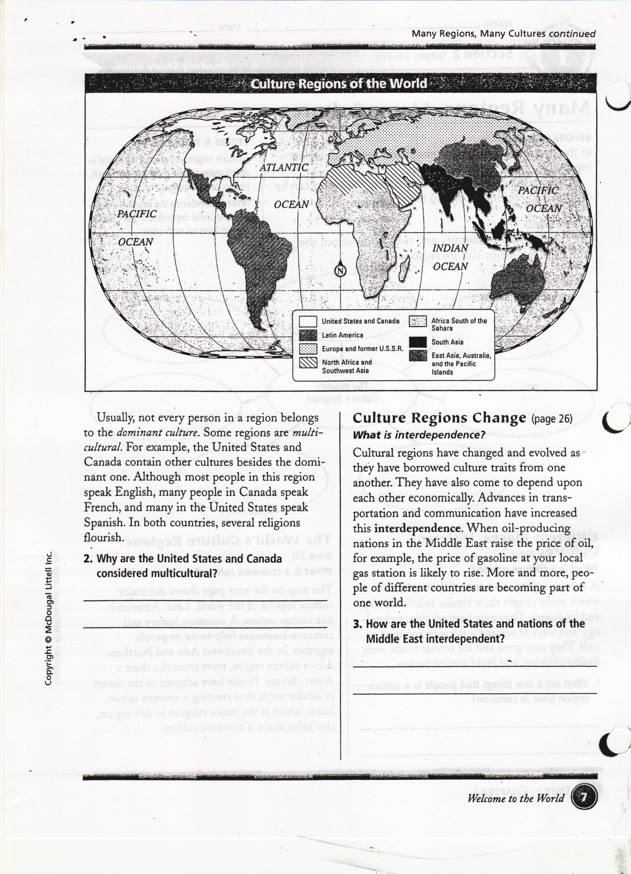 Middle School Geogr Phy W Ksheets Free W Ksheets Libr Ry