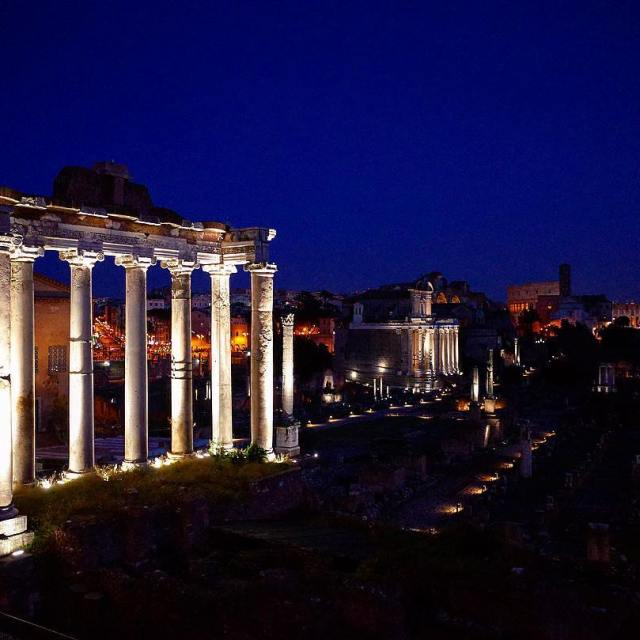 Rome December 2016 Day 3  Christmas evening walk hellip