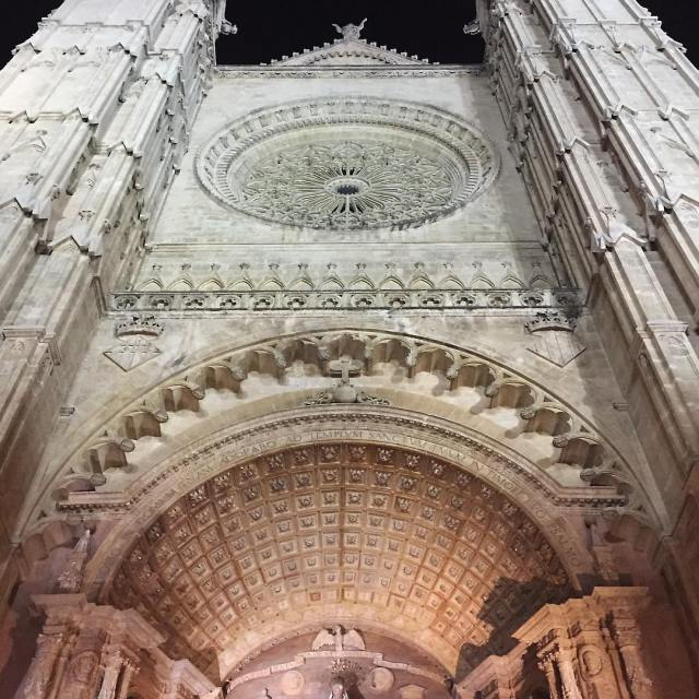 Night Palmas epic gothic cathedral puts everything in perspective nohellip