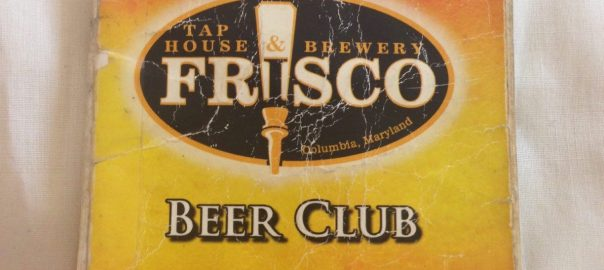 Frisco Beer Club Book
