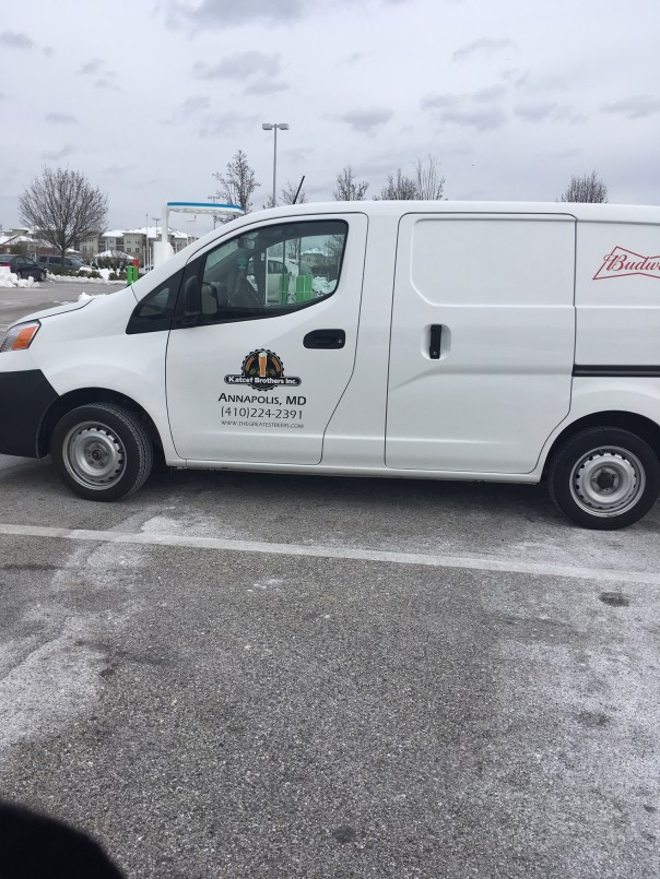 Katcef Brothers delivery truck