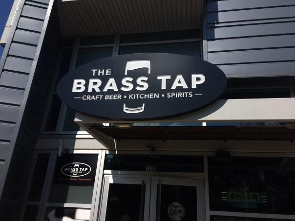 Brass Tap sign