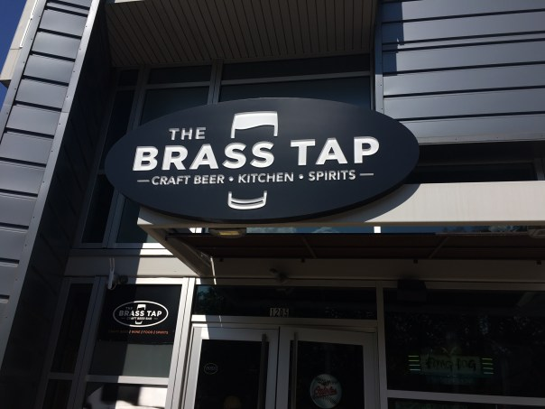Brass Tap sign