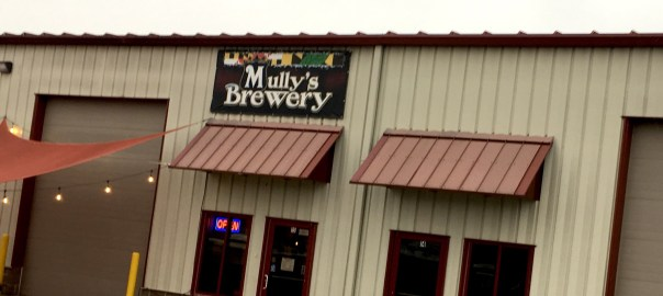 Outside Mully's Brewery