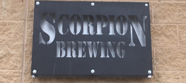 Scorpion Brewing Sign
