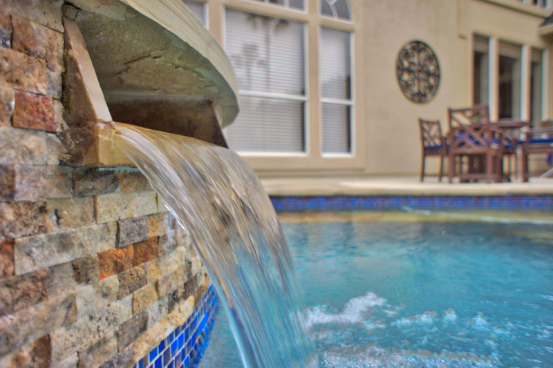 Featured Landscaping Pictures | Pool Oasis | Kingwood TX on Warrens Outdoor Living id=66354