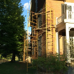 Scaffolding up at an imperfect time