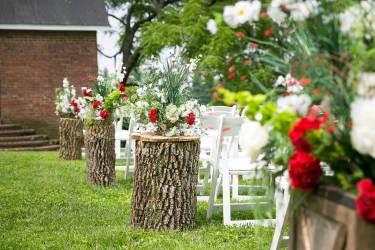 """Ashley & Matt's wedding day at Warrenwood Manor, Danville, KY 7.4.15."""