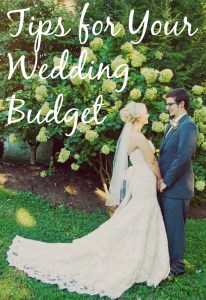 Tips for Your Wedding Budget