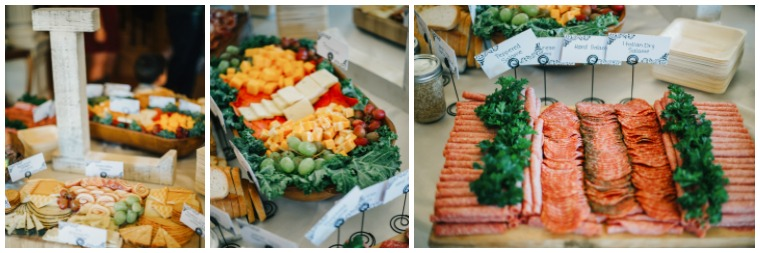 Kentucky Wedding Caterer- Antipasto buffet for Cocktail Hour