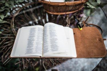 Bible as Wedding Guestbook