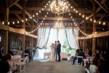 Southern Glam Wedding Ceremony