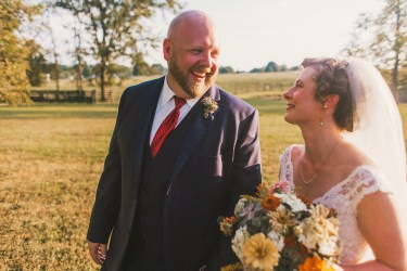 Warm earthy farm wedding at Warrenwood Manor
